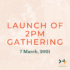 New 2pm gathering starting from 7 March!